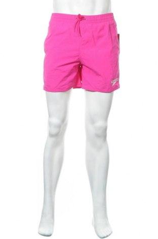 Мъжки къс панталон Speedo, Размер S, Цвят Розов, Полиамид, Цена 44,25лв.