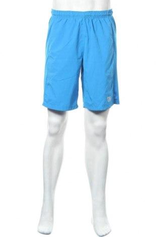 Ανδρικό κοντό παντελόνι Wilson, Μέγεθος L, Χρώμα Μπλέ, Πολυεστέρας, Τιμή 11,21€