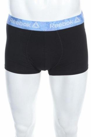 Мъжки комплект Reebok, Размер S, Цвят Черен, 57% памук, 38% полиестер, 5% еластан, Цена 18,90лв.