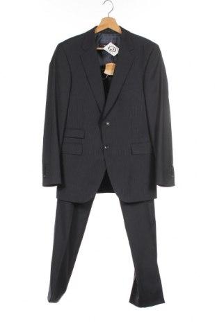Ανδρικό κοστούμι Strellson, Μέγεθος S, Χρώμα Μπλέ, Μαλλί, Τιμή 32,97€