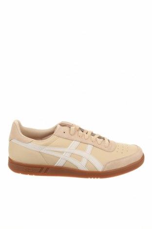 Мъжки обувки ASICS, Размер 46, Цвят Бежов, Естествена кожа, естествен велур, Цена 119,25лв.