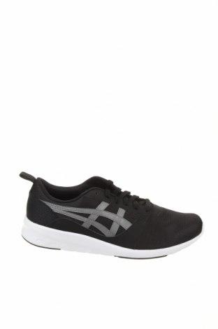 Мъжки обувки ASICS, Размер 48, Цвят Черен, Текстил, еко кожа, Цена 111,75лв.