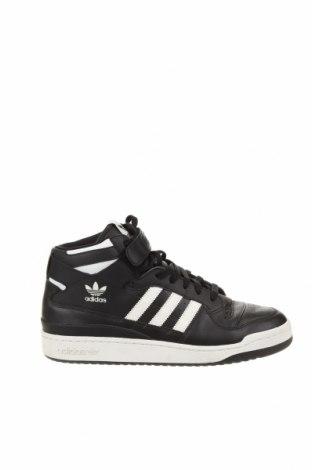 Ανδρικά παπούτσια Adidas, Μέγεθος 45, Χρώμα Μαύρο, Γνήσιο δέρμα, δερματίνη, Τιμή 28,30€