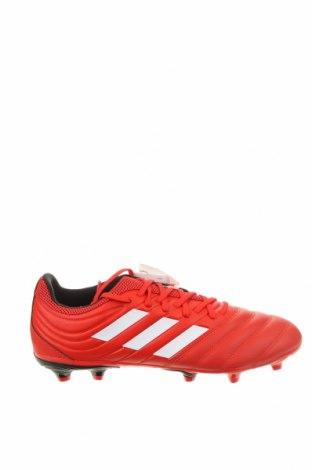 Мъжки обувки Adidas, Размер 44, Цвят Червен, Еко кожа, естествена кожа, Цена 56,62лв.
