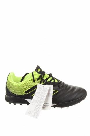 Ανδρικά παπούτσια Adidas, Μέγεθος 40, Χρώμα Μαύρο, Δερματίνη, γνήσιο δέρμα, Τιμή 57,60€
