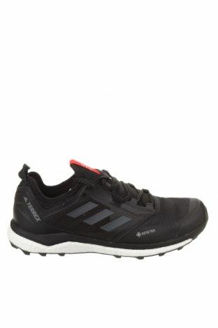 Ανδρικά παπούτσια Adidas, Μέγεθος 42, Χρώμα Μαύρο, Δερματίνη, κλωστοϋφαντουργικά προϊόντα, Τιμή 64,95€