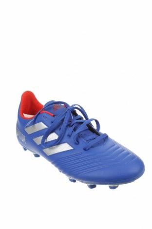 Мъжки обувки Adidas, Размер 44, Цвят Син, Еко кожа, Цена 44,70лв.