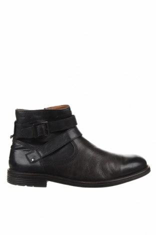 Мъжки обувки Clarks, Размер 44, Цвят Черен, Естествена кожа, Цена 62,30лв.