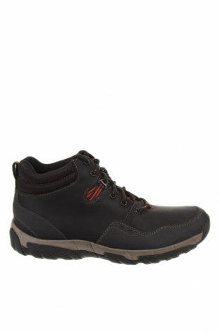 Ανδρικά παπούτσια Clarks, Μέγεθος 43, Χρώμα Μαύρο, Γνήσιο δέρμα, Τιμή 92,40€
