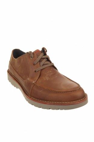 Мъжки обувки Clarks, Размер 44, Цвят Кафяв, Естествена кожа, Цена 47,00лв.