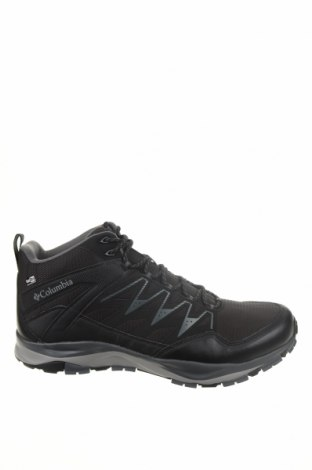 Ανδρικά παπούτσια Columbia, Μέγεθος 45, Χρώμα Μαύρο, Δερματίνη, κλωστοϋφαντουργικά προϊόντα, Τιμή 73,07€
