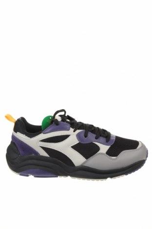 Ανδρικά παπούτσια Diadora, Μέγεθος 46, Χρώμα Πολύχρωμο, Γνήσιο δέρμα, κλωστοϋφαντουργικά προϊόντα, Τιμή 35,83€
