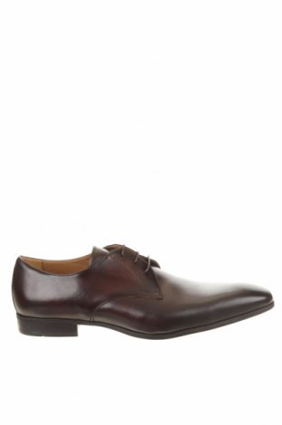 Мъжки обувки Georgio, Размер 48, Цвят Кафяв, Естествена кожа, Цена 96,75лв.