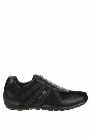 Мъжки обувки Geox, Размер 42, Цвят Черен, Текстил, еко кожа, естествен велур, Цена 111,75лв.
