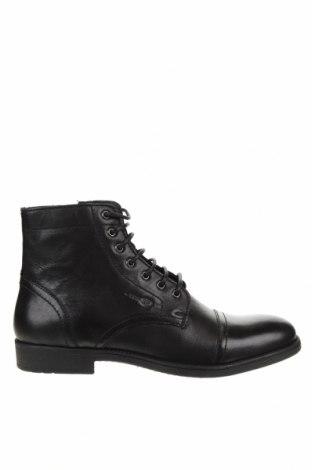 Мъжки обувки Geox, Размер 43, Цвят Черен, Естествена кожа, Цена 167,17лв.