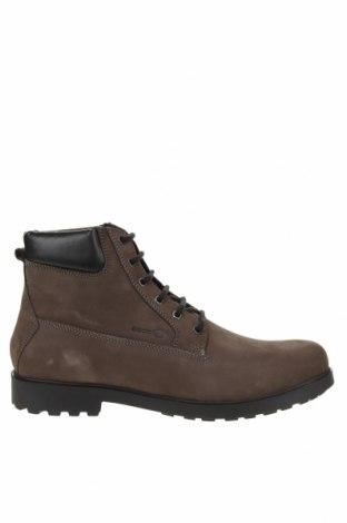 Мъжки обувки Geox, Размер 42, Цвят Сив, Естествена кожа, Цена 164,25лв.