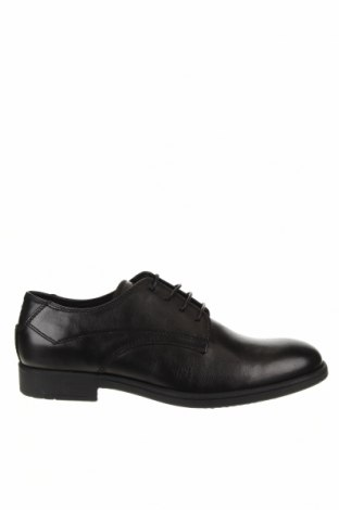 Мъжки обувки Geox, Размер 43, Цвят Черен, Естествена кожа, Цена 137,97лв.