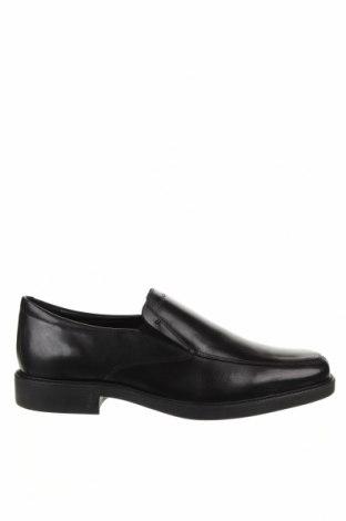 Мъжки обувки Geox, Размер 43, Цвят Черен, Естествена кожа, Цена 141,75лв.