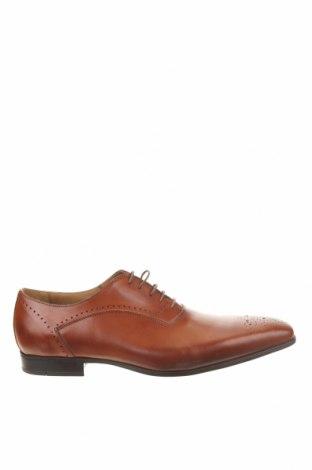 Ανδρικά παπούτσια Giorgio 1958, Μέγεθος 49, Χρώμα Καφέ, Γνήσιο δέρμα, Τιμή 23,59€