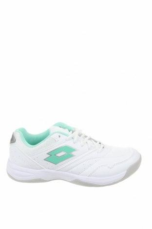 Мъжки обувки Lotto, Размер 42, Цвят Бял, Еко кожа, текстил, Цена 81,75лв.