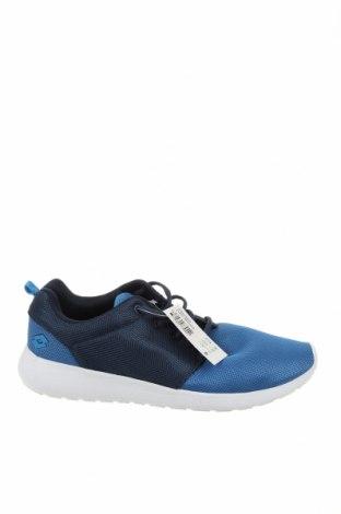 Ανδρικά παπούτσια Lotto, Μέγεθος 44, Χρώμα Μπλέ, Κλωστοϋφαντουργικά προϊόντα, Τιμή 46,01€
