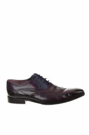 Мъжки обувки Melvin & Hamilton, Размер 47, Цвят Лилав, Естествена кожа, Цена 65,28лв.