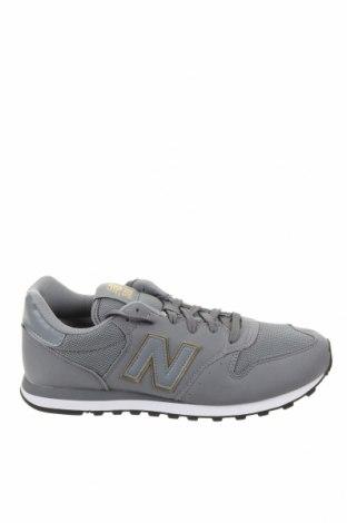 Ανδρικά παπούτσια New Balance, Μέγεθος 44, Χρώμα Γκρί, Κλωστοϋφαντουργικά προϊόντα, Τιμή 65,33€