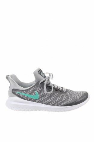 Ανδρικά παπούτσια Nike, Μέγεθος 40, Χρώμα Γκρί, Κλωστοϋφαντουργικά προϊόντα, Τιμή 57,60€
