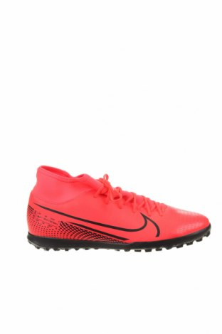 Мъжки обувки Nike, Размер 46, Цвят Розов, Еко кожа, текстил, Цена 111,75лв.