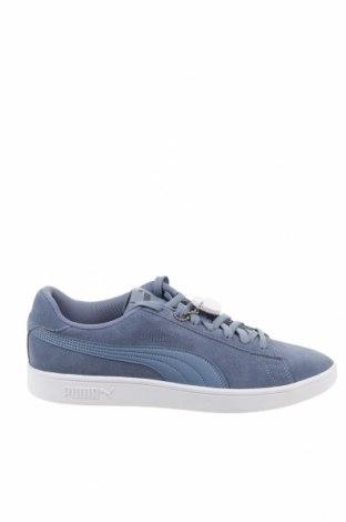 Ανδρικά παπούτσια PUMA, Μέγεθος 44, Χρώμα Μπλέ, Φυσικό σουέτ, Τιμή 65,33€