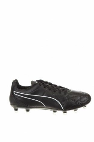 Ανδρικά παπούτσια PUMA, Μέγεθος 38, Χρώμα Μαύρο, Γνήσιο δέρμα, κλωστοϋφαντουργικά προϊόντα, Τιμή 15,36€