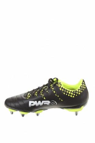 Мъжки обувки PUMA, Размер 40, Цвят Черен, Еко кожа, Цена 52,47лв.