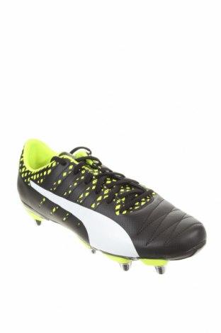 Мъжки обувки PUMA, Размер 43, Цвят Черен, Еко кожа, Цена 52,47лв.