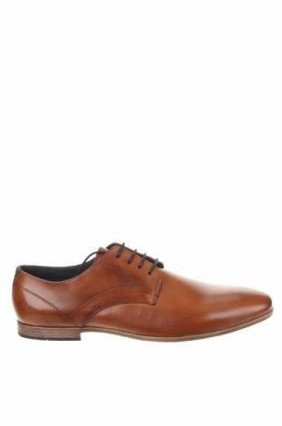 Мъжки обувки Pier One, Размер 48, Цвят Кафяв, Естествена кожа, Цена 45,22лв.