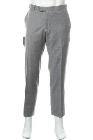 Мъжки панталон Alexandre, Размер M, Цвят Сив, 52% полиестер, 46% вълна, 2% еластан, Цена 24,92лв.