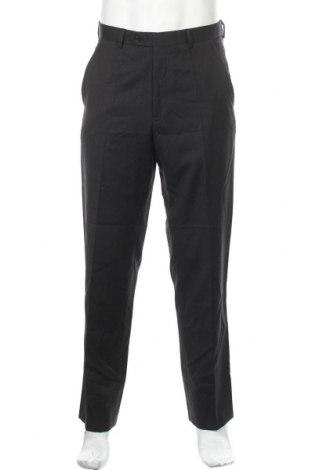 Мъжки панталон Alfani, Размер M, Цвят Черен, Вълна, Цена 7,61лв.