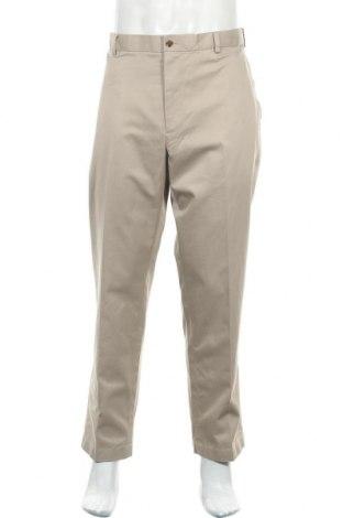 Мъжки панталон Brooks Brothers, Размер XL, Цвят Бежов, Памук, Цена 108,73лв.