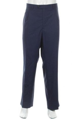 Ανδρικό παντελόνι Cortefiel, Μέγεθος XL, Χρώμα Μπλέ, Μαλλί, Τιμή 19,98€