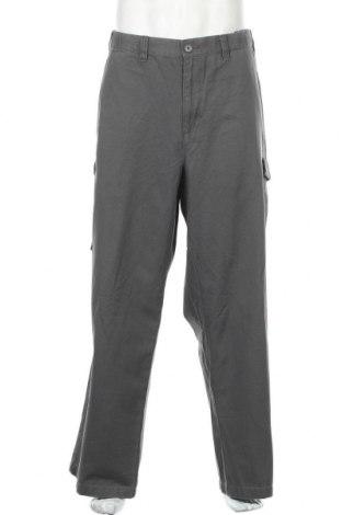 Мъжки панталон Croft & Barrow, Размер 3XL, Цвят Сив, Памук, Цена 58,80лв.