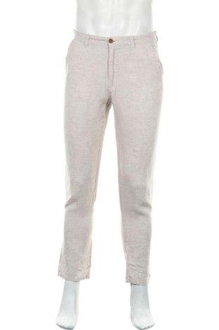 Ανδρικό παντελόνι Denim Co, Μέγεθος M, Χρώμα  Μπέζ, Λινό, Τιμή 16,66€