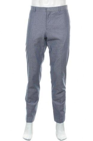 Мъжки панталон Devred 1902, Размер L, Цвят Син, 61% памук, 37% вискоза, 2% еластан, Цена 8,40лв.