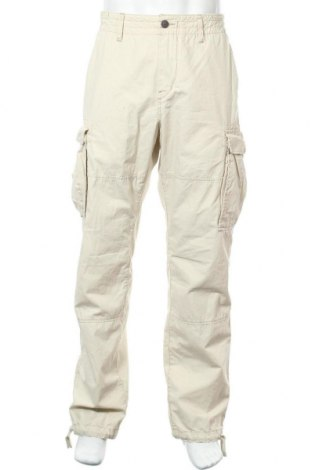 Мъжки панталон H&M L.O.G.G., Размер L, Цвят Бежов, Памук, Цена 26,25лв.