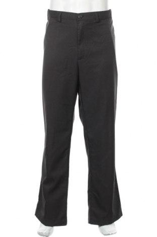 Мъжки панталон Haggar, Размер XXL, Цвят Сив, Полиестер, Цена 3,44лв.