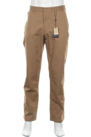 Pánské kalhoty  Howick, Velikost L, Barva Hnědá, 98% bavlna, 2% elastan, Cena  344,00Kč