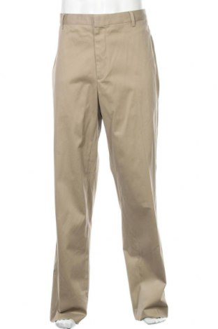Мъжки панталон Kirkland, Размер XL, Цвят Бежов, 98% памук, 2% еластан, Цена 12,08лв.