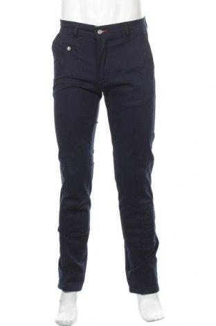 Мъжки панталон Makarthy, Размер M, Цвят Син, 97% памук, 3% еластан, Цена 33,60лв.