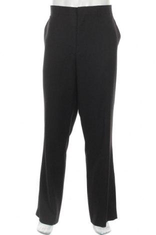 Мъжки панталон Moon, Размер XL, Цвят Черен, 80% полиестер, 20% вискоза, Цена 11,81лв.