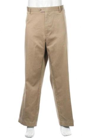 Мъжки панталон Perry Ellis, Размер XXL, Цвят Бежов, Памук, Цена 7,35лв.