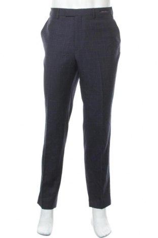 Ανδρικό παντελόνι Ted Baker, Μέγεθος XL, Χρώμα Μπλέ, Μαλλί, Τιμή 39,51€