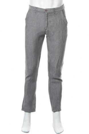 Ανδρικό παντελόνι Denim Co, Μέγεθος M, Χρώμα Γκρί, 100% λινό, Τιμή 13,25€